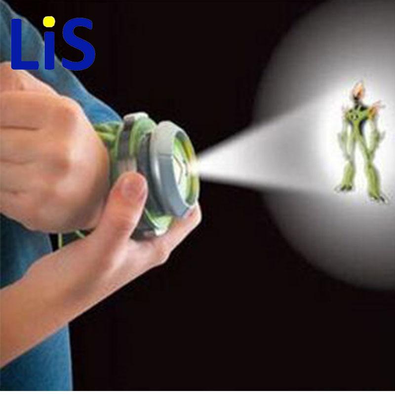[해외]Lis 10 스타일 일본 프로젝터 시청 핫 세일 벤 반 다이  장난감 키즈 어린이 슬라이드 쇼 시계 밴드 핑 U31/Lis 10 Style Japan Projector Watch Hot Selling Ben BAN DAI Genuine Toys Kids Chil