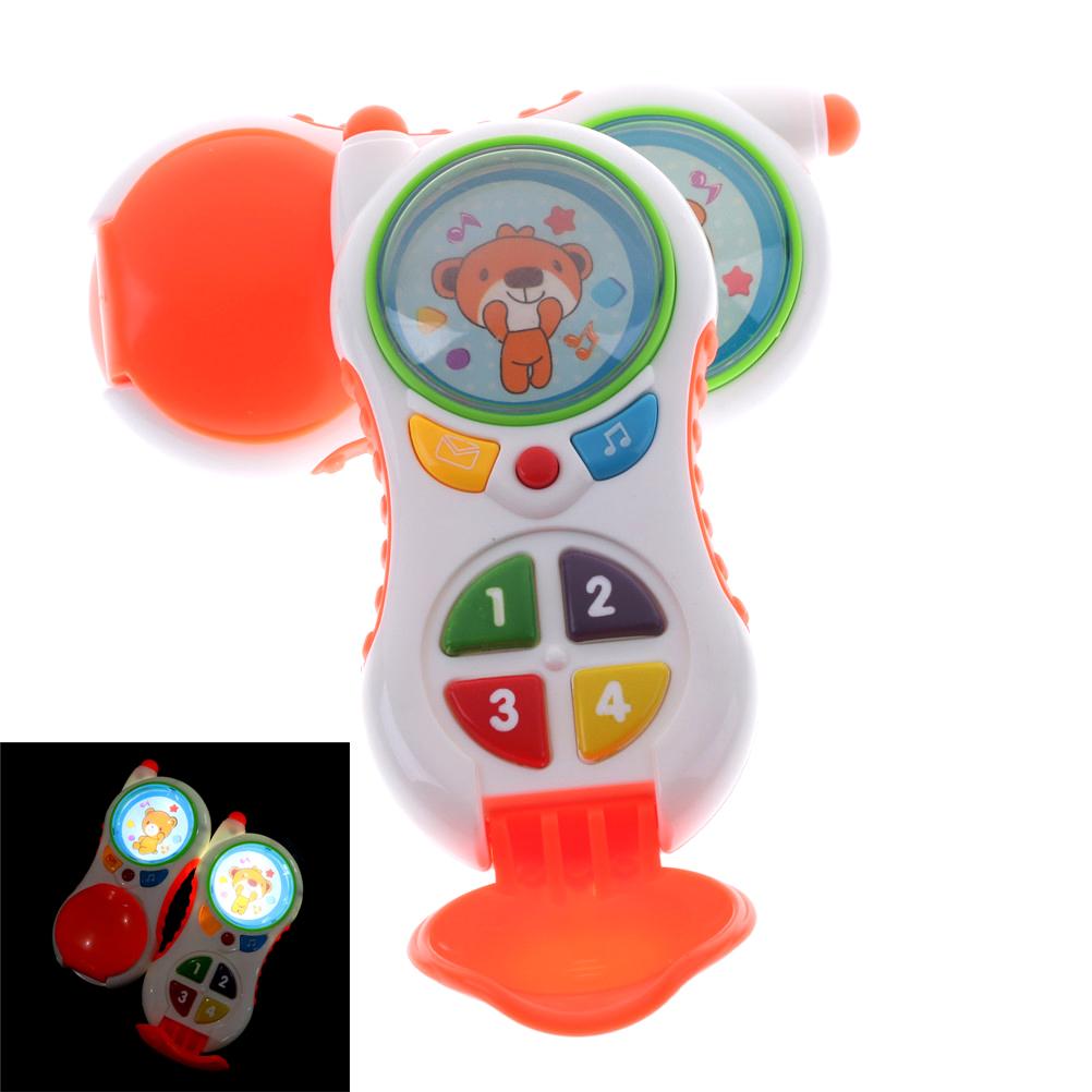 [해외]아기 뮤지컬 장난감 장난감 크리스마스 선물 아이 전자 휴대 전화 소리 어린이 학습 학습 교육 완구/Baby Musical Phone Toy Christmas Gifts Kids Electronic Mobile PhoneSound Children Learning