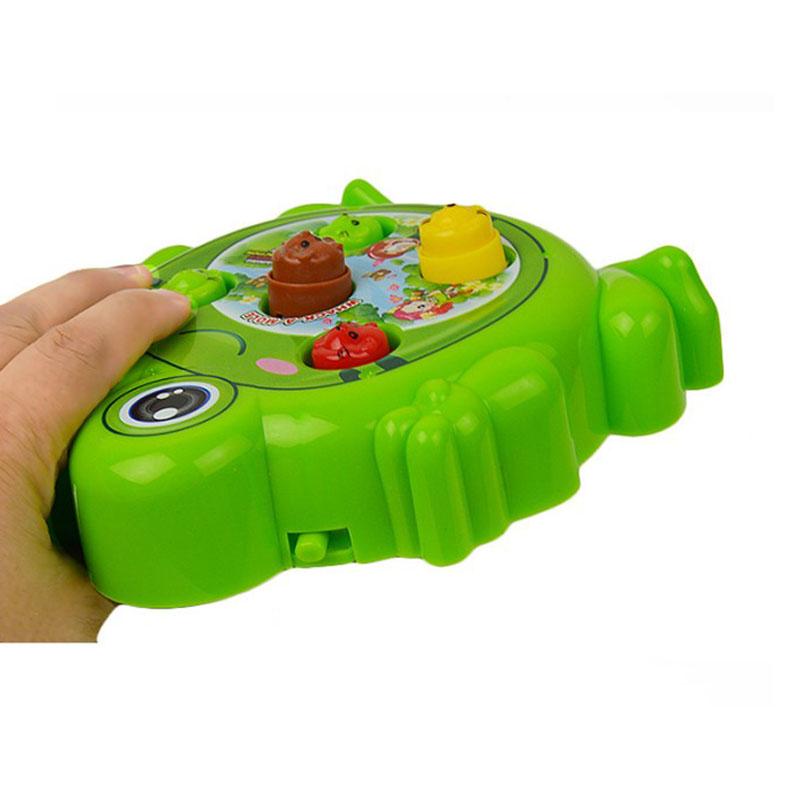 [해외]1 PC 개구리 전기 장난감 게임 햄스터 새로운 기계 아이 음악/1 Pcs Frog Electric Toy Game Hamster New Machine Child  Music