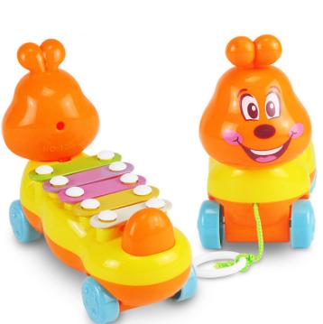 [해외]1 Pc 재미 만화 애벌레 실로폰 장난감 손 노크 Glockenspiel 피아노 장난감 악기 아이를교육 뮤직 장난감/1 Pc funny Cartoon Caterpillar Xylophone Toy Hand Knock Glockenspiel Piano Toy Mu