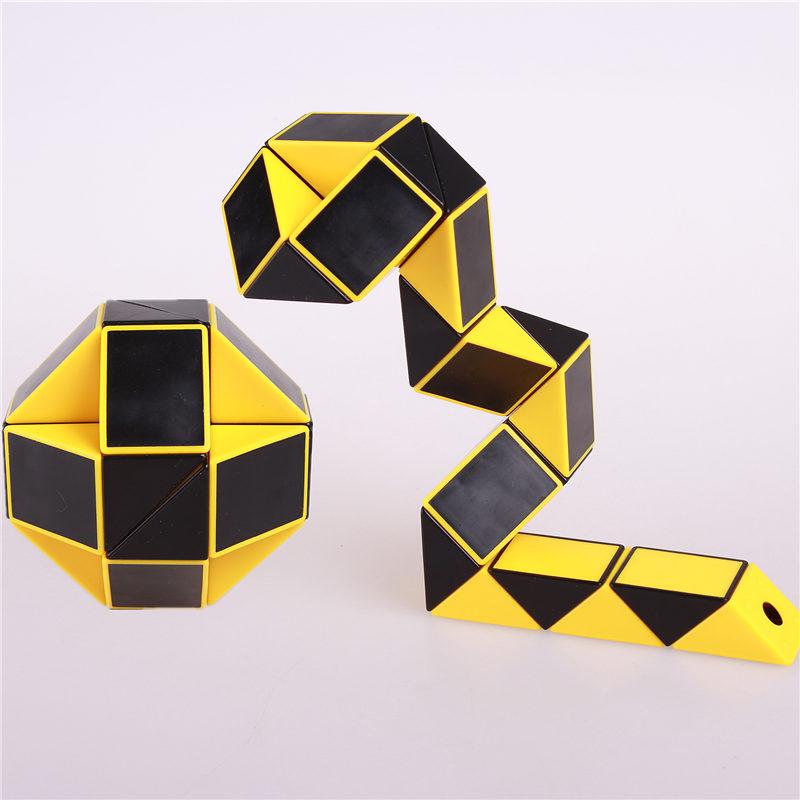 [해외]마술 뱀 통치자 퍼즐 장난감 24 속도 블록 뱀 트위스트 퍼즐 어린이 교육 게임 완구 어린이를마술 큐브 선물/Magic snake ruler puzzle toy 24 speed Blocks Snake Twist Puzzle Children Educational