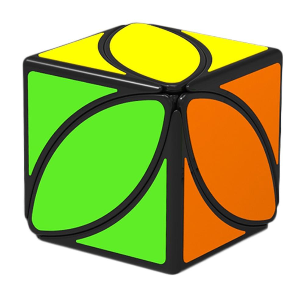 [해외]??100 % QiYi Mofangge 아이비 큐브 리프 라인 퍼즐의 첫 번째 트위스트 큐브 매직 큐브 교육 완구 큐오 m/  100% Brand New Arrival QiYi Mofangge Ivy Cube The First Twist Cubes of Leaf