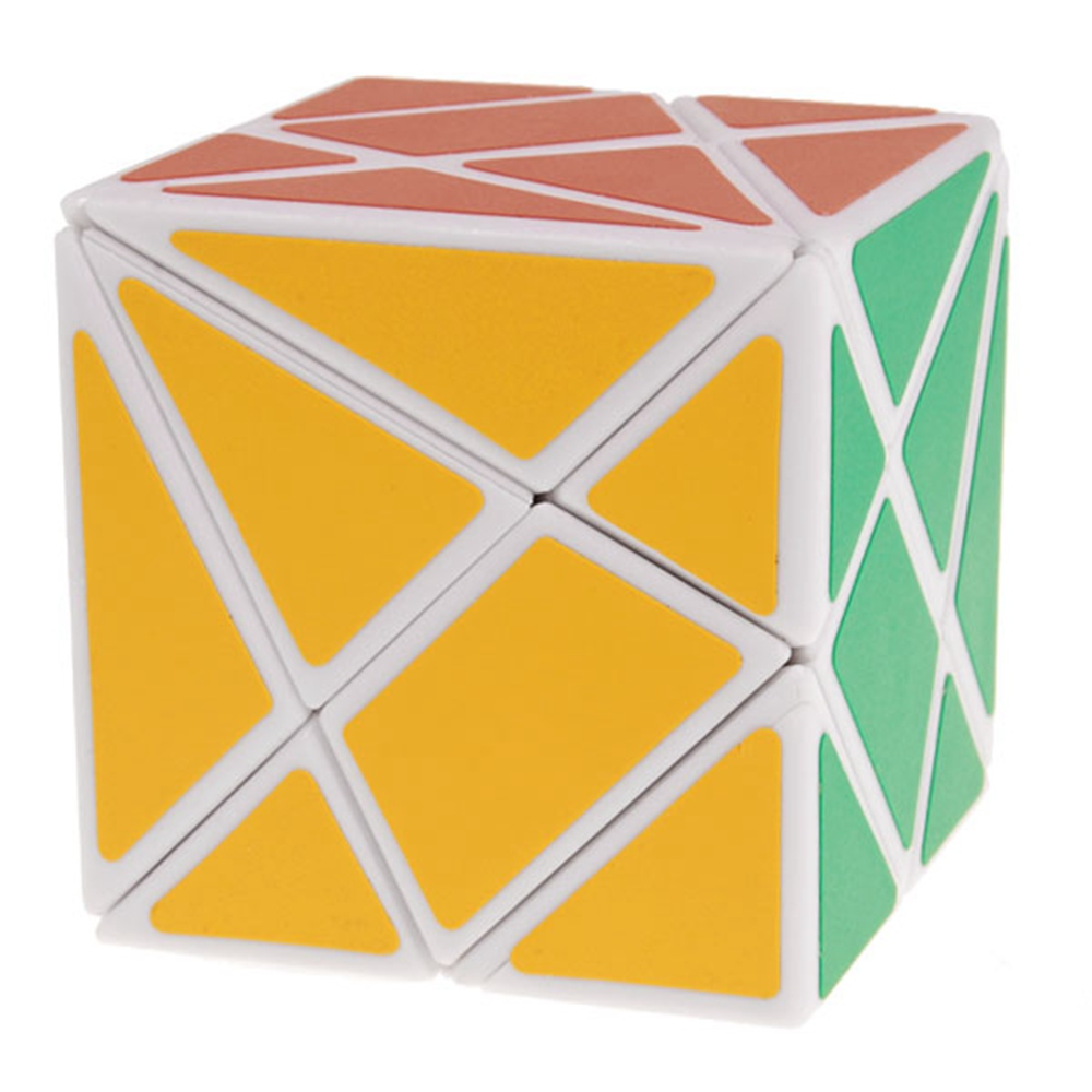 [해외]브랜드 뉴 YongJun 각도 타입 변동 Jingang 매직 큐브 키즈 교육 완구 - 화이트/Brand New  YongJun Angled Type Fluctuation Jingang Magic Cube Kids Educational Toys - White