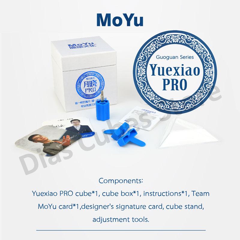 [해외]MoYu Guoguan Yuexiao Pro 3x3 GuoGuan 브랜드 Magico Cubo 전문 재밌는 장난감/MoYu Guoguan Yuexiao Pro 3x3 GuoGuan Brand Magico Cubo Professional Funny Toys