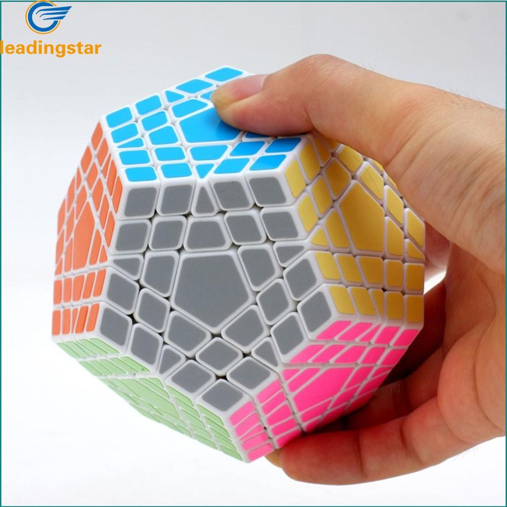 [해외]LeadingStar 5 차 큐브 5 층 12 면체 퍼즐 큐브 두뇌 티저 큐보 Magico Cube zk30/LeadingStar Fifth order Cube Five Layers Dodecahedron Puzzle Cubes Brain Teaser Cubo
