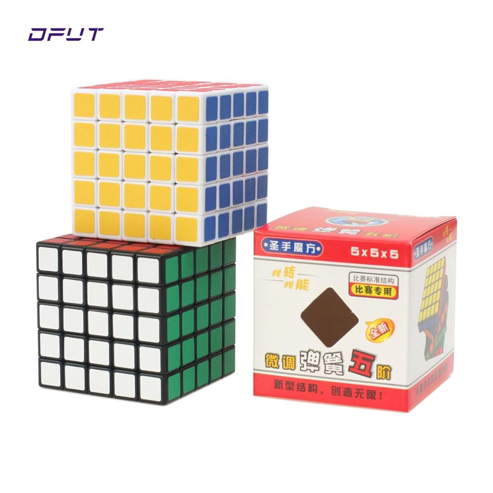 [해외]1PCS 클래식 장난감 5x5x5 플라스틱 속도 매직 큐브 다채로운 학습 및 교육 퍼즐 매직 장난감/1Pcs Classic Toys 5x5x5 Plastic  Speed Magic Cube Colorful Learning&Educational Puzzle