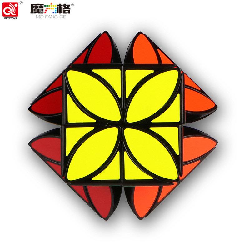 [해외]QIYI STRANGE-SHAPE MAGIC CUBE 환상적인 아트 큐브 클로버 큐브 향상된 에디션 부드러운 감압 큐브 모양의 교육 완구/QIYI STRANGE-SHAPE MAGIC CUBE Fantastic Art Cube Clover Cube Enhanced