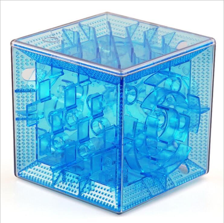 [해외]3D 입체 미로 맑은 퍼즐 수수께끼 장난감 매직 큐브 TweakCube D019/3D three-dimensional maze clear puzzle Fidget toys Magic Cubes TweakCube D019