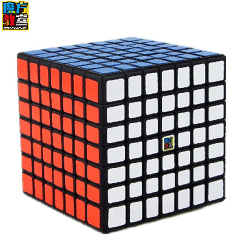 [해외]7x7x7 큐브 Moyu MF 교실 MF7 매직 큐브 7Layers 큐브 일곱 레이어 블랙 큐브 퍼즐 어린이 완구 어린이 선물 완구/7x7x7 cube Moyu MF Classroom MF7 Magic Cube 7Layers Cube Seven Layer Bla