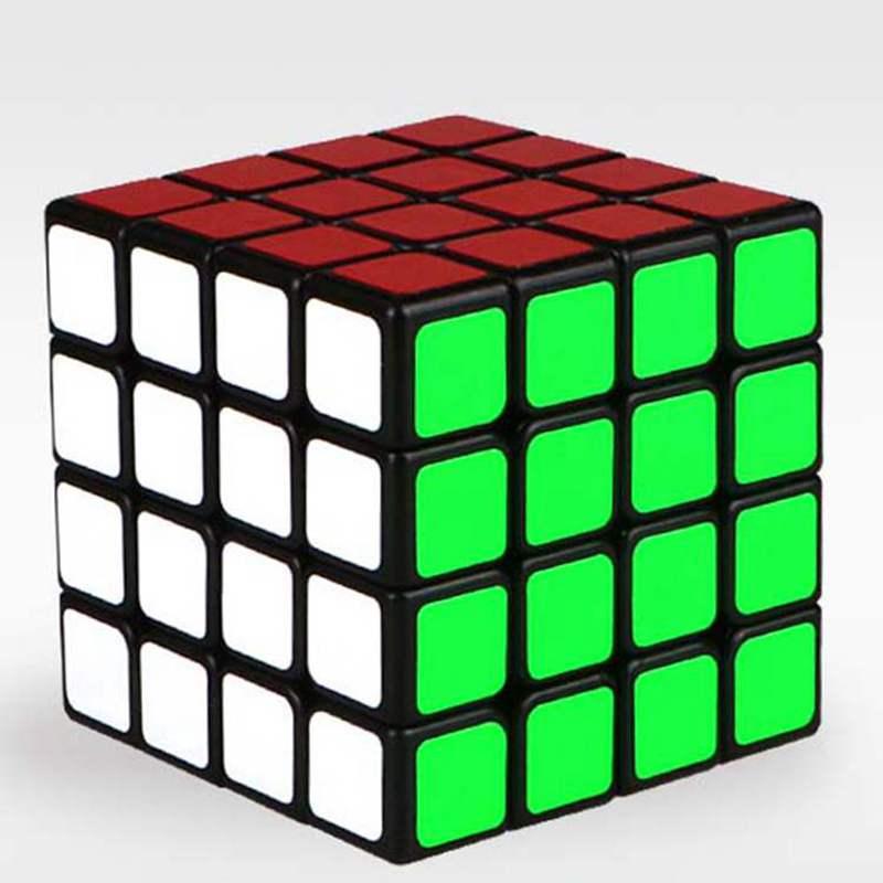 [해외]교육 완구 4 차 백색 스티커 붙인 서리로 덥은 큐브 4 * 4 * 4 어린이와 장난감 전용 게임 큐브 용 매직 큐브/Educational toys  Fourth-order White Sticker Affixed Frosted Cube 4*4*4 Magic Cu