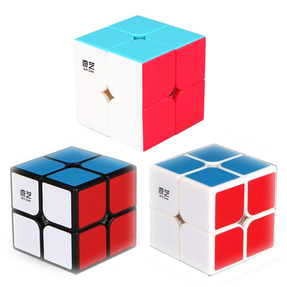 [해외]3 색 Qiyi QiDi S 2x2 매직 큐브 전문 속도 2x2x2 퍼즐 큐브 교육 뇌 장난감 어린이선물/3 Colors Qiyi QiDi S 2x2 Magic Cube Professional Speed 2x2x2 Puzzle Cube Training Brain