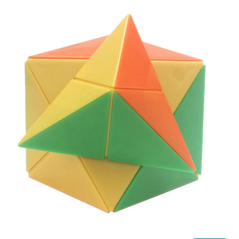 [해외]최신 다채로운 Dino 입방체 Stickerless 마술 입방체 속도 수수께끼 어린이 교육 장난감 아이 선물 -45/Newest Colorful Dino Cube Stickerless Magic cube Speed Puzzle Children Educationa