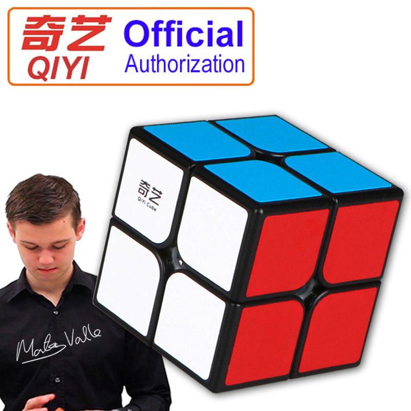 [해외]2X2X2 마술 큐브 속도 포켓 스티커 50mm 퍼즐 루빅스 큐브 어린이를전문적인 교육 재미 있은 장난감 키즈 선물 QY202/2X2X2 Magic Cube Speed Pocket Sticker 50mm Puzzle Rubiks Cube Professional