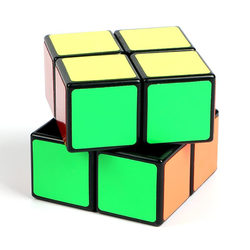 [해외]2x2x2 미니 초보자 속도 포켓 매직 큐브 어린이를두 레이어 큐브 퍼즐 장난감 전문 큐브 교육/2x2x2 Mini Beginner Speed Pocket Magic Cube Two Layers Cube Puzzle Toys for Kids Professiona