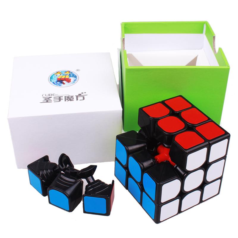 [해외]shengshou cubo magico 3x3x3 Profissional Magic Cube 경쟁 스피드 퍼즐 큐브 fangyuan neo cube magic 장난감 성인용/shengshou cubo magico 3x3x3 Profissional Magic Cu
