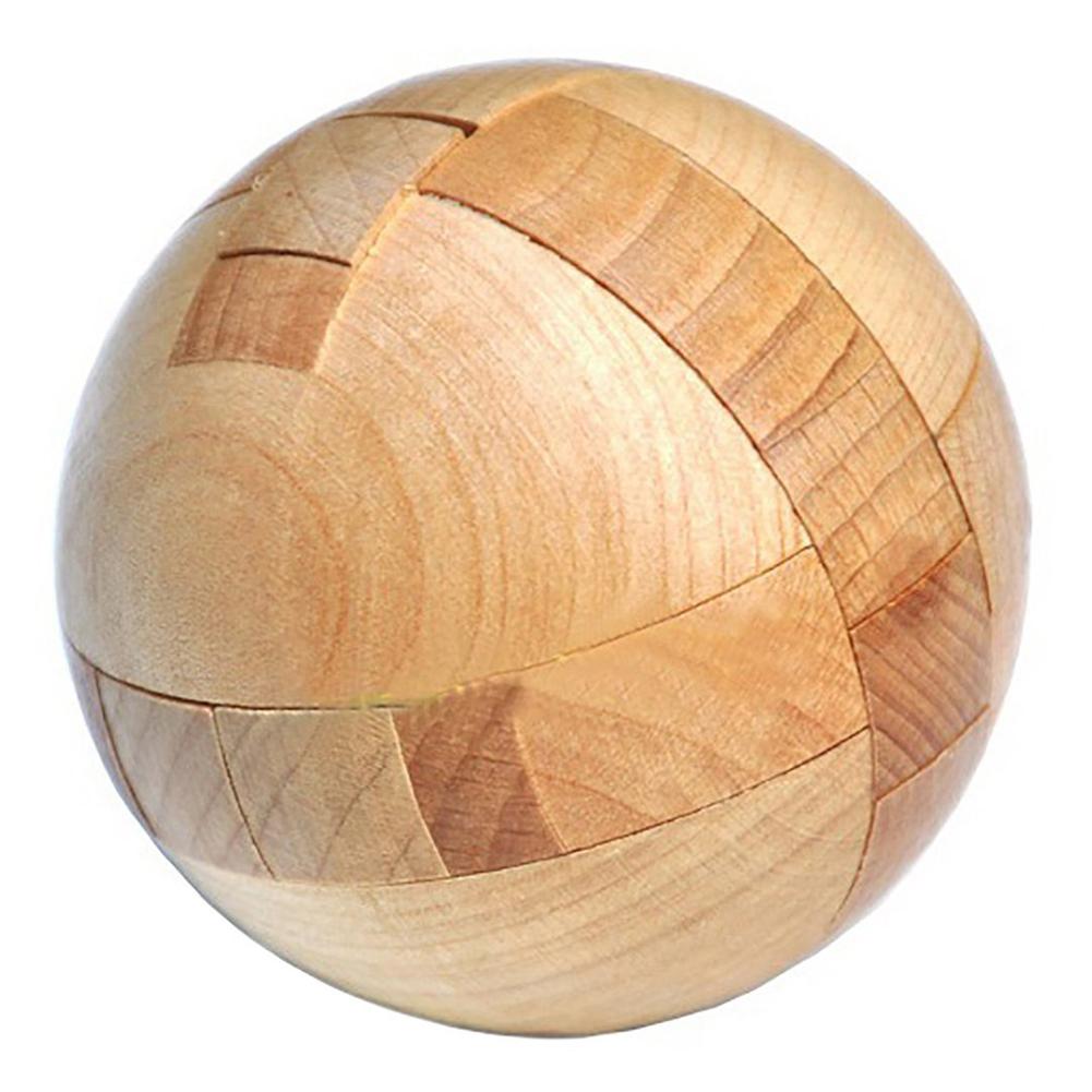 [해외]나무 퍼즐 마술 볼 두뇌 티저 장난감 정보 지능 퍼즐 / 어른을퍼즐/Wooden Puzzle Magic Ball Brain Teasers Toy Intelligence Game Sphere Puzzles For Adults/Kids