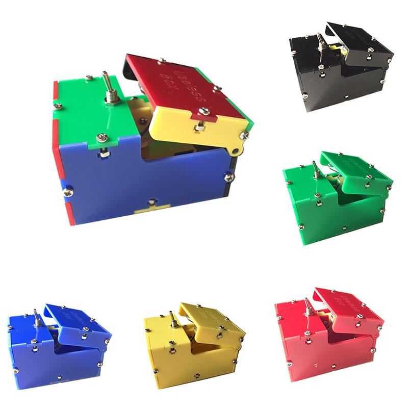 [해외]미니 전자 쓸모 상자 재미 있은 완구 창의력 선물 놀람 농담 까다로운 장난감 안티 스트레스 쓸모없는 상자 참신 장난 가제트/Mini Electronic Useless Box Funny Toys Creativity Gift Surprise Joke Tricky T