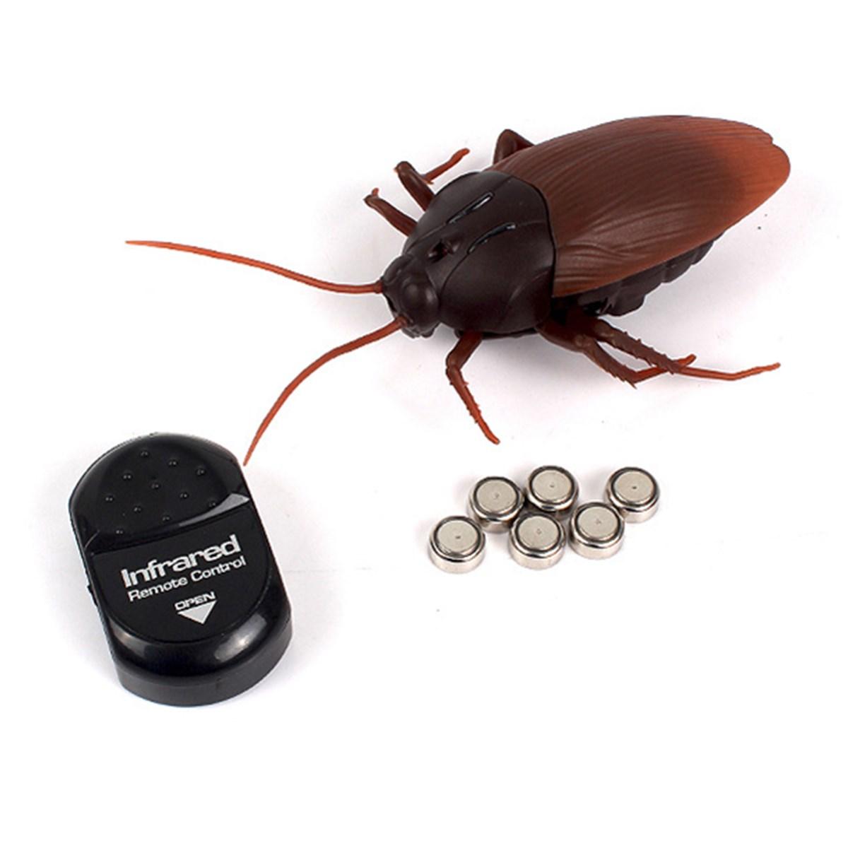 [해외]웃긴 시뮬레이션 적외선 RC 원격 제어 무서운 소름 끼치는 곤충 바퀴벌레 완구 어린이 성인을할로윈 선물/Funny Simulation Infrared RC Remote Control Scary Creepy Insect Cockroach Toys Halloween