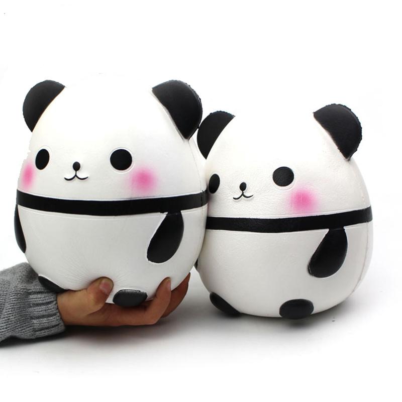 [해외]큰 크기 Squishy 팬더 짜기 장난감 재미 있은 창조성 짜내기 Abreact Stress Reliever 아이들을농담 감압 장난감/Big Size Squishy Panda Squeeze Toy  Funny Creativity Squeeze Abreact St