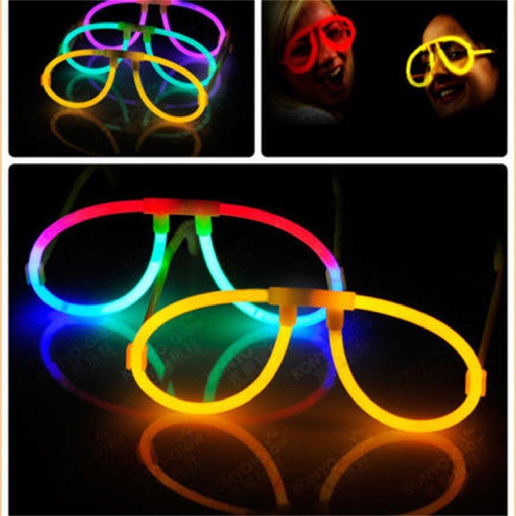 [해외]10pcs 형광 안경 빛나는 광선 스틱 소품 결혼식 생일 파티 콘서트 FavorsFrame 참신 장난감/10pcs Fluorescence Glasses Luminous Glow Sticks Lighting For Props Wedding Birthday Part