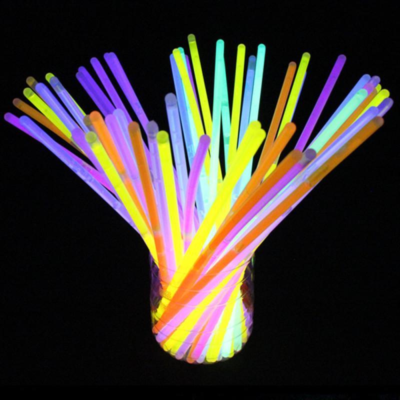 [해외]100 라이트 업 완구 글로우 스틱 팔찌 혼합 색상 파티 호의 용품 (Tube of 100) Z830/100 Light up Toys Glow Stick Bracelets Mixed Colors Party Favors Supplies (Tube of 100) Z