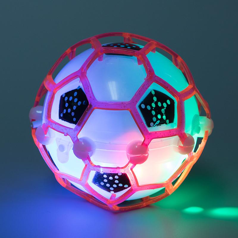 [해외]바운스 어린이 미친 전기 발광 축구 장난감 댄스 음악 축구 탄력 볼 장난감/Bounce Children crazy electric luminous football toy dance music football bouncy ball toys Beat