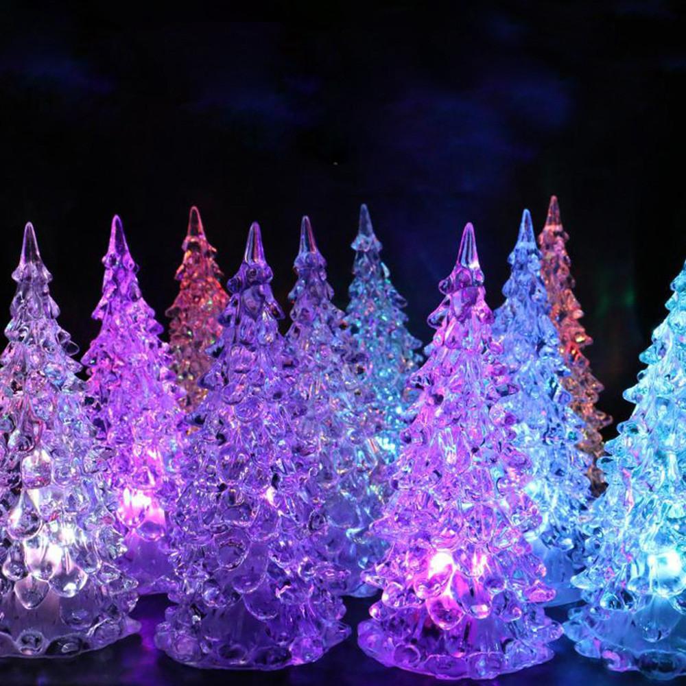 [해외]HIINST 2017 크리스마스 크리스마스 트리 색상 변경 LED 라이트 램프 홈 파티 장식 웨딩 핫 Dropship Y719/HIINST 2017 Christmas Xmas Tree Color Changing LED Light Lamp Home Party De