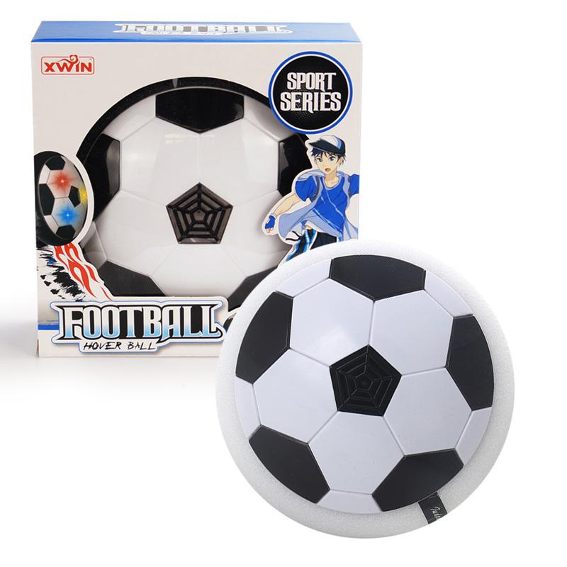 [해외]1pc 호버 볼 LED 빛 깜박이 도착 공기 전원 축구 볼 디스크 실내 축구 장난감 다중 표면 유혹 및 글라이딩 완구/1Pc Hover Ball LED Light Flashing Arrival Air Power Soccer Ball Disc Indoor Foot