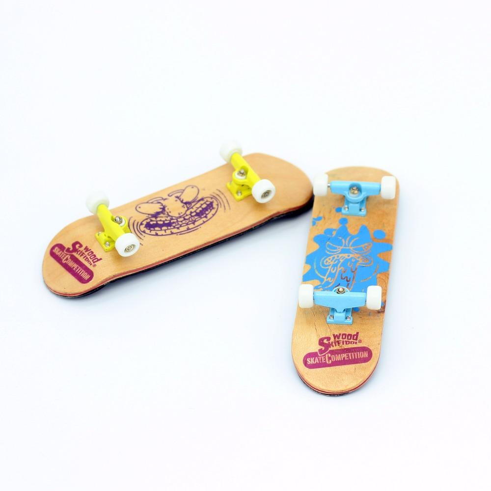 [해외]어린이고품질의 다채로운 미니 나무 지판 장난감/High quality colorful mini Wooden fingerboard toys for children