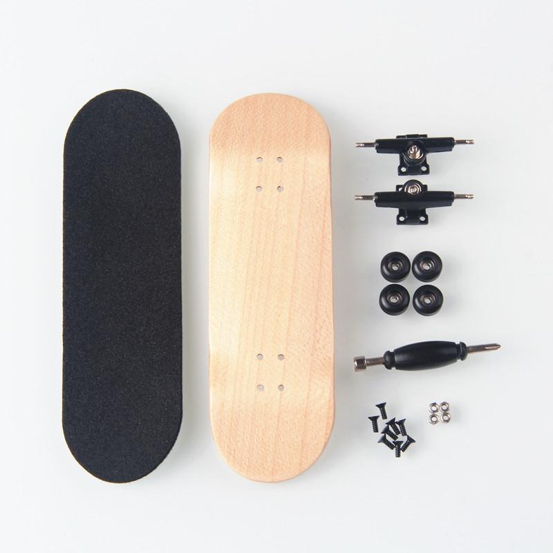 [해외]키즈 완구 우드 핑거 스케이트 지판 캐나다 메이플 프로페셔널 핑거 스케이트 보드 생일 선물 핑거 보드 니켈 베어링/Kids Toys Wood Finger Skate Fingerboard Canadian Maple Professional Finger Skatebo