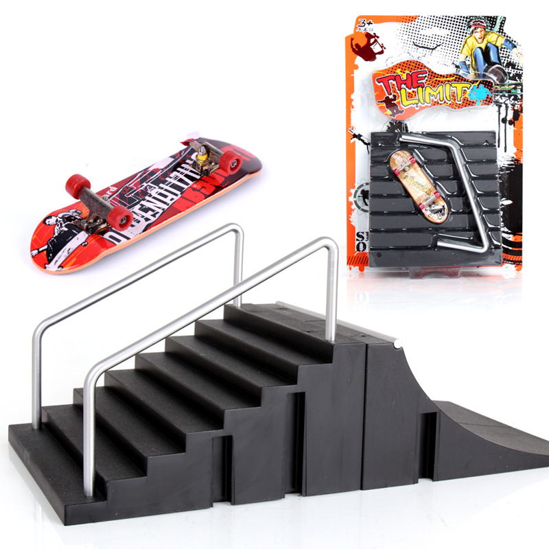 [해외]1 피스 기본 버전 Skate ParkFingerboard 지판 핑거 스케이트 보드 용 경사대 TechDeck Toys for Kids/1 Piece Basic Version Skate ParkFingerboard Ramp Parts For Fingerboard