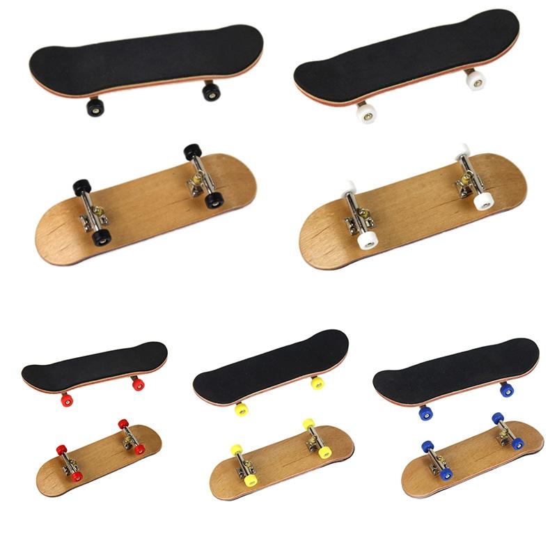 [해외]?5 색 가장 재미있는 스케이트 보딩 손가락 장난감 아이 메이플 베어링 휠 보이 아이 아기 손가락 스케이트 보드/ 5 Color The Latest Most Fun Skateboarding Finger Toys Kid Maple Bearing Wheel Boy