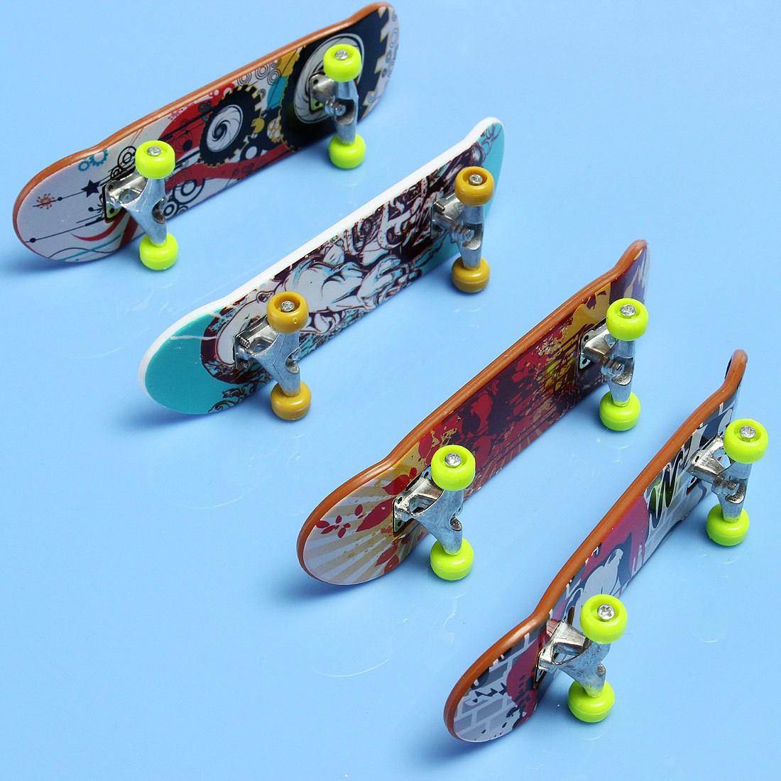 [해외]새로운 나무 FingerBoard 선물 전문 손가락 스케이트 보드 소년 손가락 보드 트럭 아이 어린이 KIds 파티 두뇌 개발/New Wooden FingerBoard Gift Professional Finger Skateboard Boy Finger Board