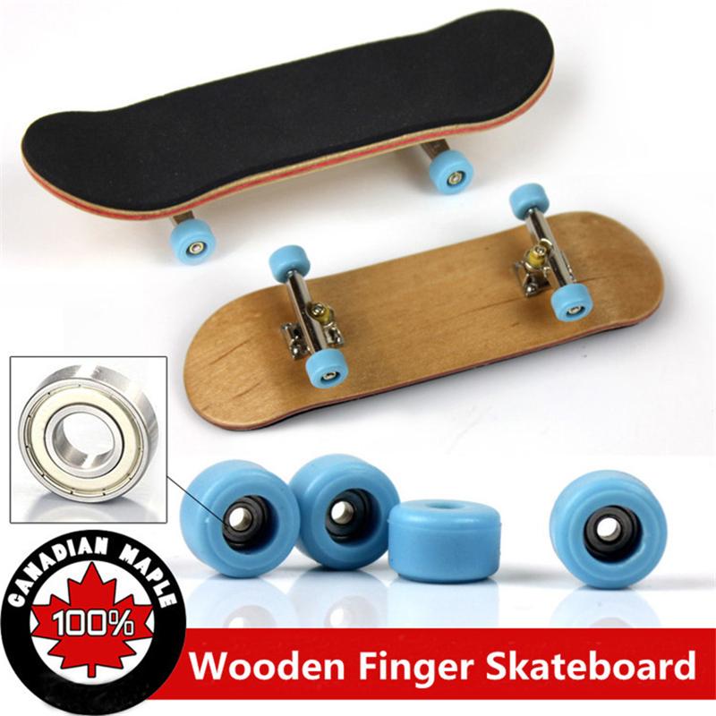 [해외]프로 페셔널 타입 베어링 휠 스키드 패드 메이플 우드 스케이트 보드 합금 스텐트 베어링 휠 핑거 보드 참신 장난감/Professional Type Bearing Wheels Skid Pad Maple Wood Finger Skateboard Alloy Stent
