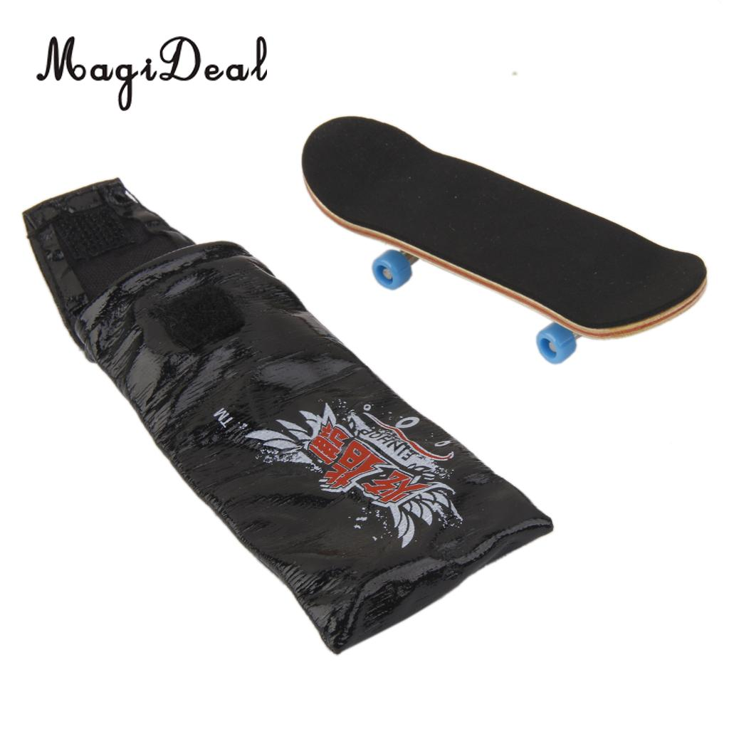 [해외]MagiDeal 1PC 나무 미니 지판 스케이트 보드 스포츠 게임 컬렉션 사무실 책상 펍 교실 장식 어린이 참신 개그 선물/MagiDeal 1Pc Wooden Mini Fingerboard Skateboard Sport Games for Collection Of
