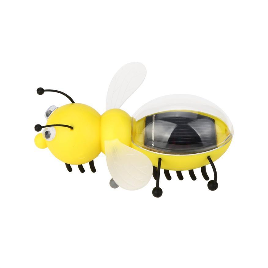 [해외]새로운 태양 강화한 감시 작은 꿀벌 부속품 교육 장난감 곤충 태양 장난감 J6132/NEW Solar Powered Guarding Little Bee Gadget Brain Educational Toys Insect Solar Toys J6132