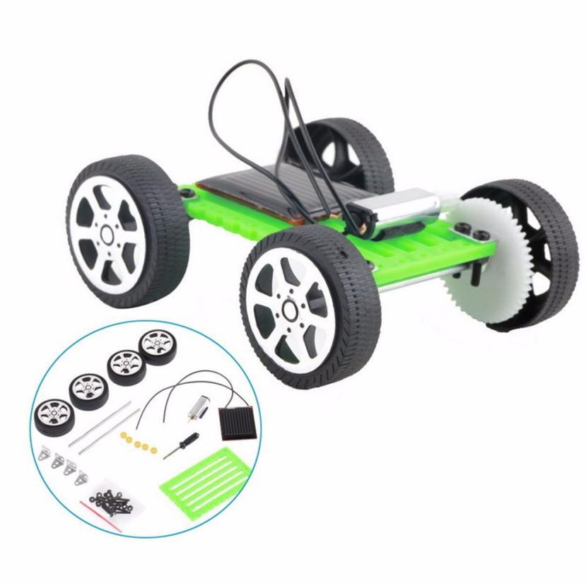 [해외]1 세트 미니 태양열 구동 장난감 DIY 자동차 키트 어린이 교육 가제 취미 재미 Z901/1 Set Mini Solar Powered Toy DIY Car Kit Children Educational Gadget Hobby Funny Z901