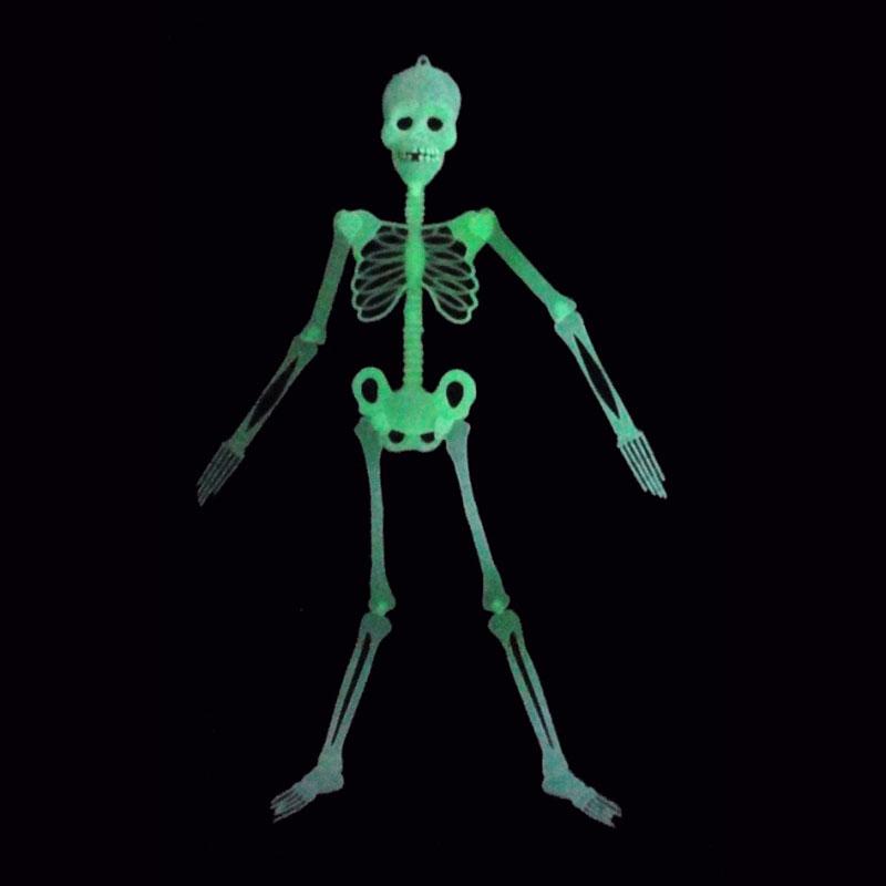 [해외]150cm / 90cm 재미 있은 까다로운 장난감 Halloween 빛나는 해골 해골 참신 개그 장난감 실용적인 농담 바 파티 훈장/150cm/90cm Funny Tricky Toy Halloween Luminous Skull Skeleton Novelty Ga