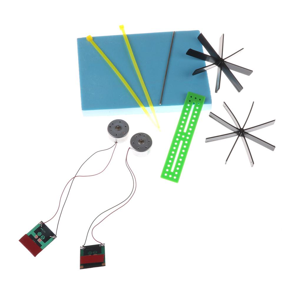 [해외]교육 퍼즐 DIY 태양열 전원 보트 어린이 장난감 15 * 13 * 8cm 모델 로봇 조립 조립/Educational Puzzle DIY Solar Powered Boat Rowing Assembling Toys for Children Toys 15*13*8cm