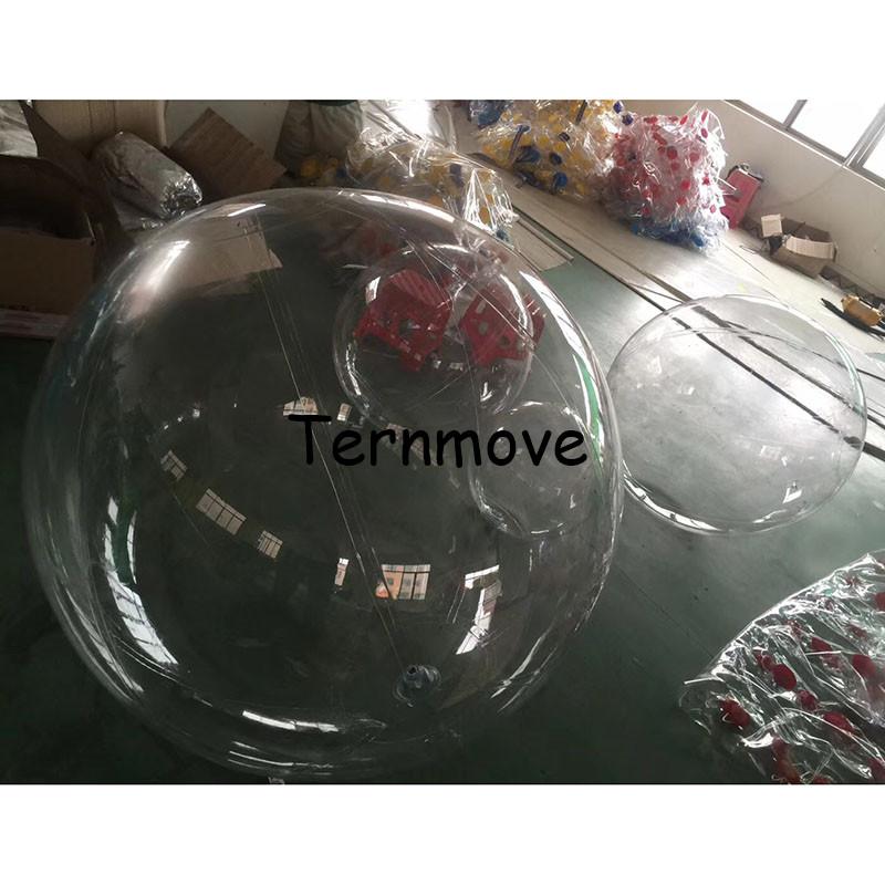 [해외]풍선 pvc 크리스마스 장식 볼 쇼 창 투명 한 오픈 플라스틱 크리스마스 지우기 장식품 선물 선물/inflatable pvc Christmas Decorations Ball for show Window Transparent  Open Plastic Christm