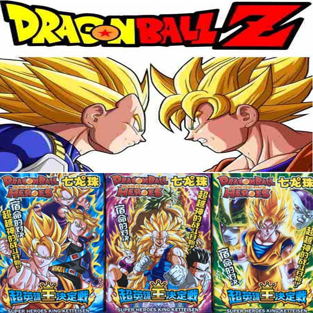 [해외]32 개/몫 애니메이션 드래곤 볼 Z 컬렉션 카드 슈퍼 Saiyan 베지터 Goku Freeza 액션 피규어 카드 아이 선물 장난감/32 개/몫 애니메이션 드래곤 볼 Z 컬렉션 카드 슈퍼 Saiyan 베지터 Goku Freeza 액션 피규어 카