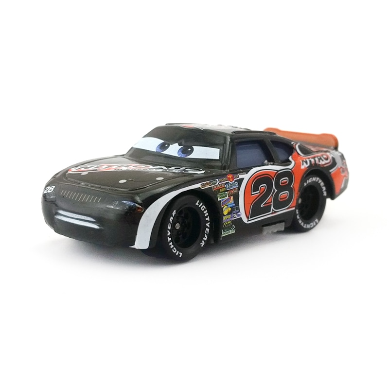 [해외]Disney pixar cars no. 28 nitroade 금속 다이 캐스트 장난감 자동차 1:55 느슨한 브랜드의 새로운 재고 및 무료 배송