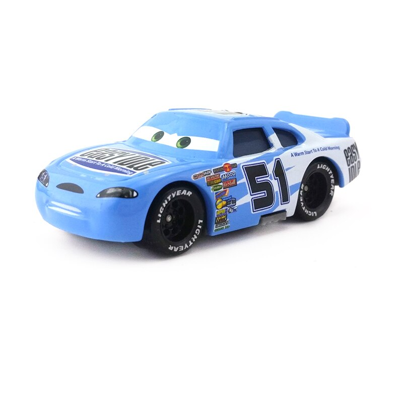 [해외]Disney Pixar Cars No.51 Easy Idle Metal Diecast Toy Car 1:55 Loose Brand New In Stock & /Disney Pixar Cars No.51 Easy Idle Metal Diecast Toy C