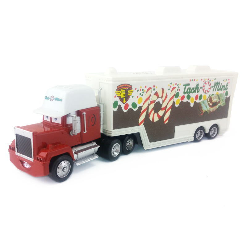 [해외]Disney  Pixar Cars Mack Uncle No.101 Tach O Mint Racer`s Truck Diecast Toy Car Loose 1:55 Brand New In Stock & /Disney  Pixar Cars Mack Uncle