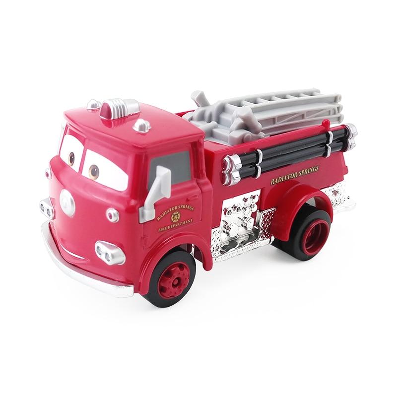 [해외]Disney pixar cars 3 빨간 금속 다이 캐스트 장난감 자동차 1:55 느슨한 브랜드의 새로운 재고 및 무료 배송