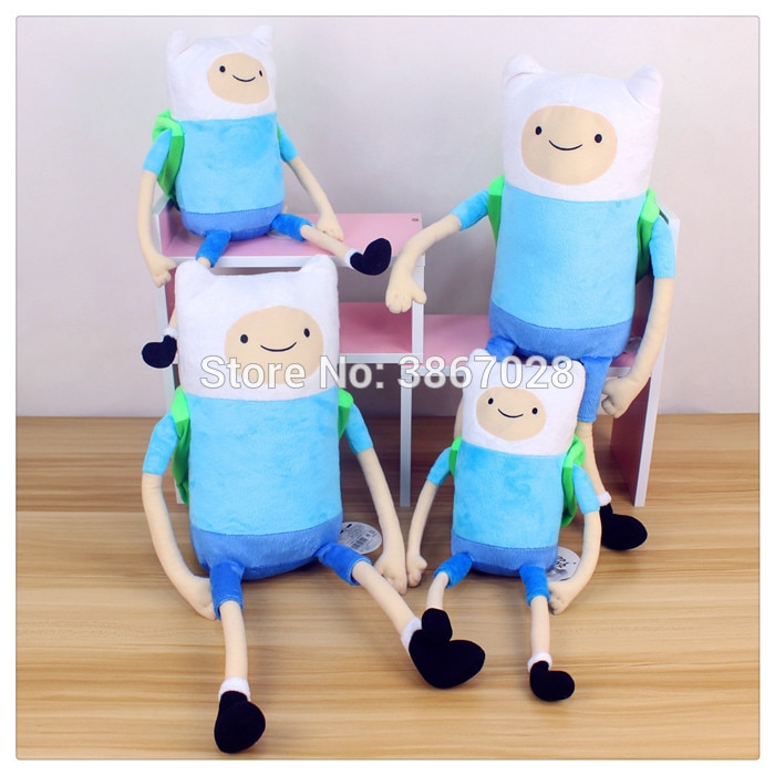 [해외]Adventure Time Finnbackpack Plush Doll toy 35cm  50cm gift/Adventure Time Finnbackpack Plush Doll toy 35cm  50cm gift
