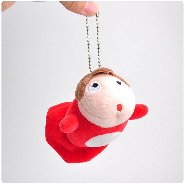 [해외]9cm Japanese Hayao Miyazaki Cartoon Movie Ponyo on the Cliff Mini Plush Dolls Soft Pendant Toy Keychains/9cm Japanese Hayao Miyazaki Cartoon Movie