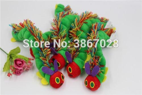 [해외]매우 배고픈 애벌레 에릭 carle 봉제 인형 선물 10 cm 1 pc/매우 배고픈 애벌레 에릭 carle 봉제 인형 선물 10 cm 1 pc