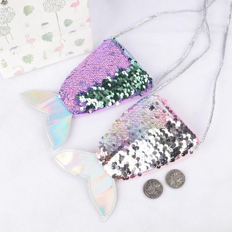 [해외]여자를위한 새로운 패션 매직 가역 스팽글 동전 지갑 지갑 인어 꼬리 슬링/여자를위한 새로운 패션 매직 가역 스팽글 동전 지갑 지갑 인어 꼬리 슬링