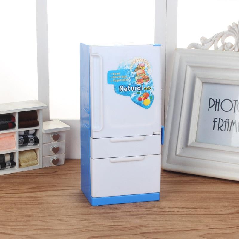 [해외]홈 냉장고 바비 인형 파생 제품 인형 가구/홈 냉장고 바비 인형 파생 제품 인형 가구